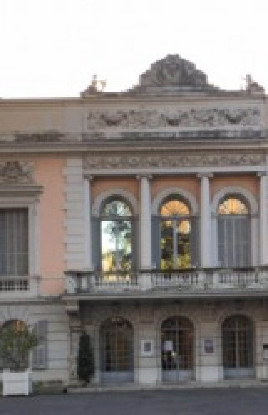February 2015 – Menton – guided visit of Palais Carnolès Museum and Citrus Garden – & lunch & concert