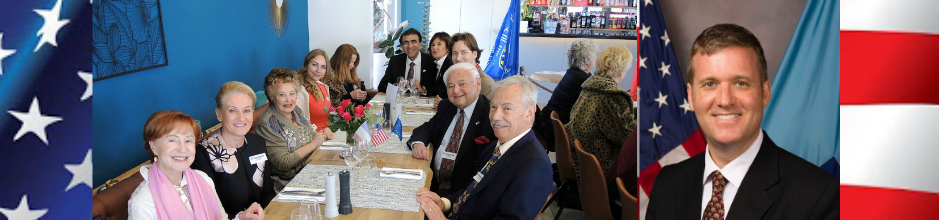 Lunch with the U.S. Navy League and U.S. Consul General Mr. Simon Hankinson