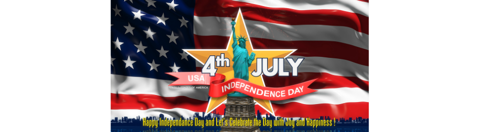 July 2018- Flags will be waving and our pride is high! 4th of July Event