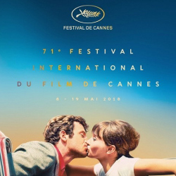 May 2018  Lunch on the Beach in Central Cannes during the 71st International Film Festival