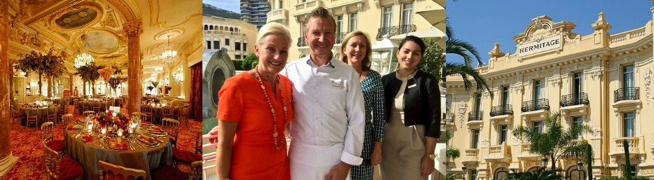 November 2018 – Annual Thanksgiving Celebration at Hôtel Hermitage, Monte Carlo