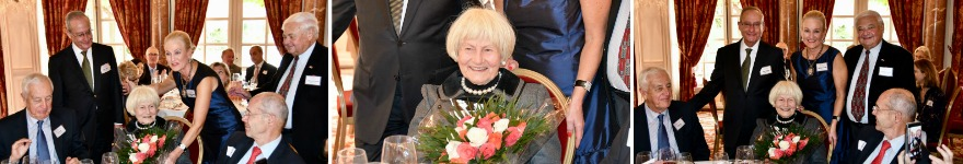 Mrs. Helene Peterman granted status of Honorary Member at Annual Thanksgiving Luncheon.