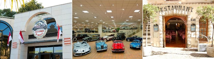 February 2019 – Visit to the car collection of H.S.H. Prince Albert of Monaco and lunch