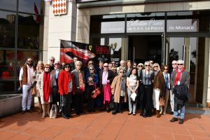 February 2019  Visit to the car collection of H.S.H. Prince Albert of Monaco and lunch