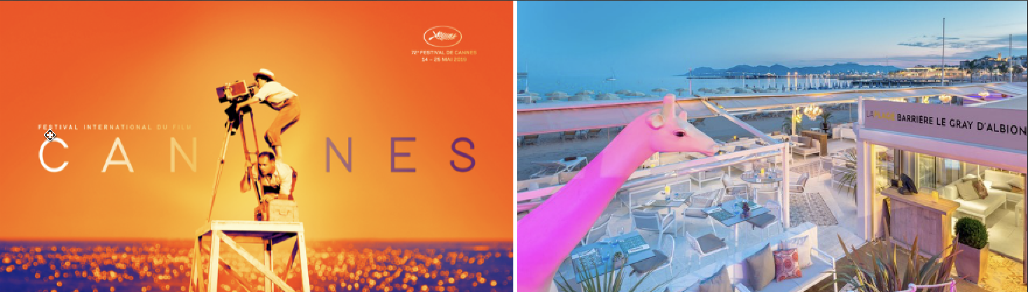 May 2019 – Festive Club Lunch in Cannes during the 72nd International Film Festival