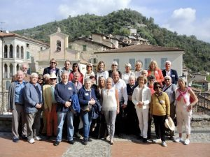 October 2019 Guided tour and lunch in the medieval village of Apricale, Italy