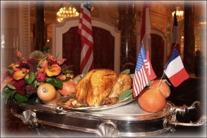 November 2019 Our annual Thanksgiving Day celebration at Hôtel Hermitage, Monte Carlo Part 1