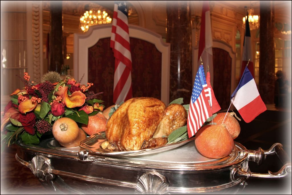 November 2019 – Our annual Thanksgiving Day celebration at Hôtel Hermitage, Monte Carlo