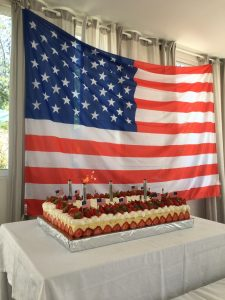 July 2021 5th of July 2021 celebration of America's Independence Day American BBQ